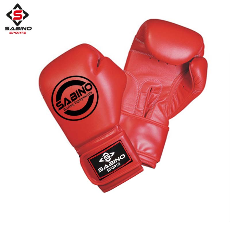 VELCRO STRAP BOXING GLOVES