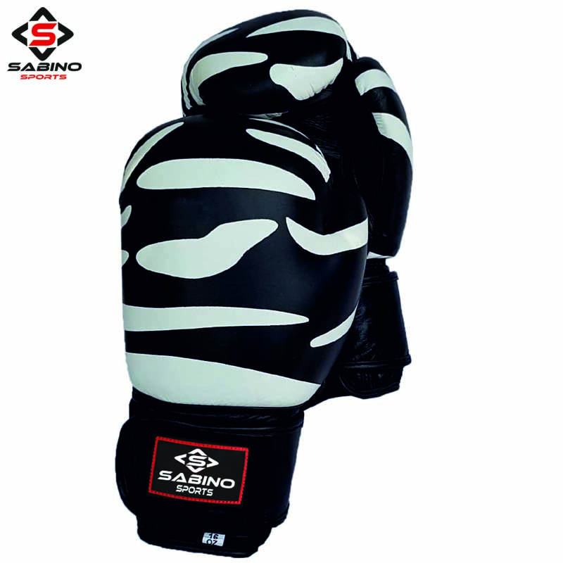 Zebra Print BOXING GLOVES