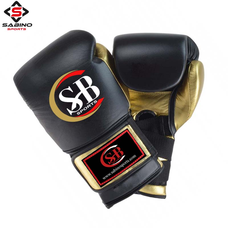 Real Leather Boxing Gloves