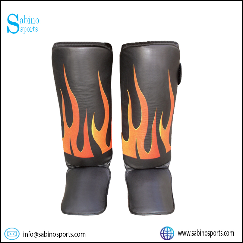 Cowhide Leather Shin instep Guard