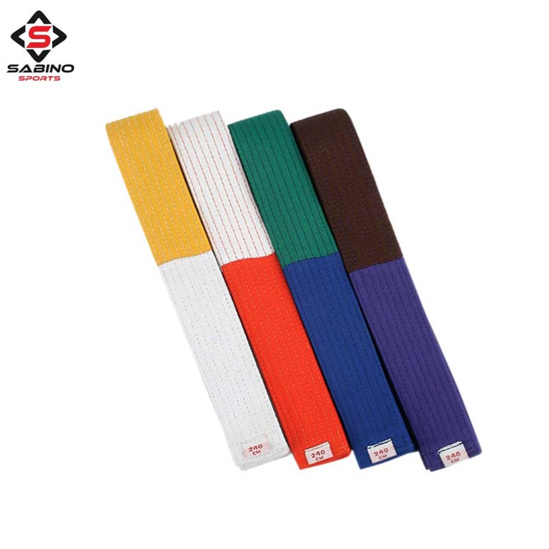Judo, Karate and Taekwondo rank belts