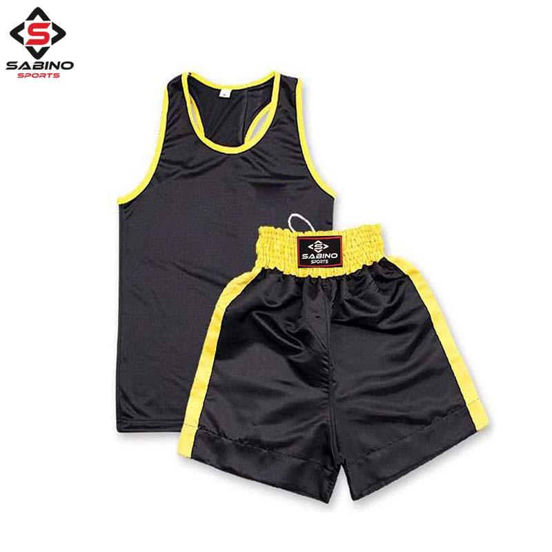 Boxing Shorts & Vest