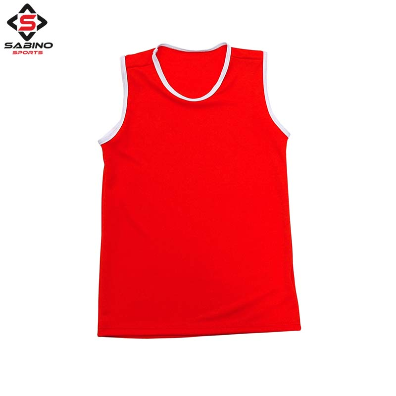 Boxing Vest Red
