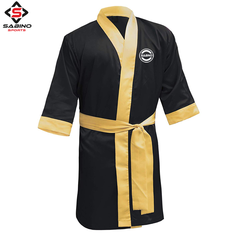 Black Boxing robe