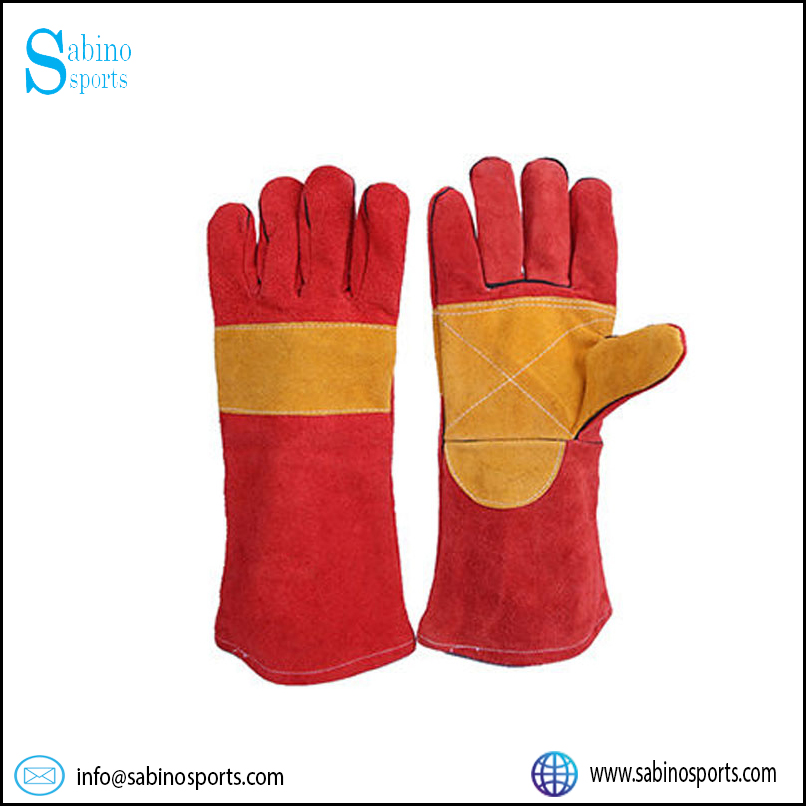 Split Leather Welding Gloves